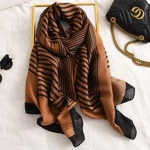 Модный хлопковый шарф с геометрическим узором 3 цвета 10 шт./лот