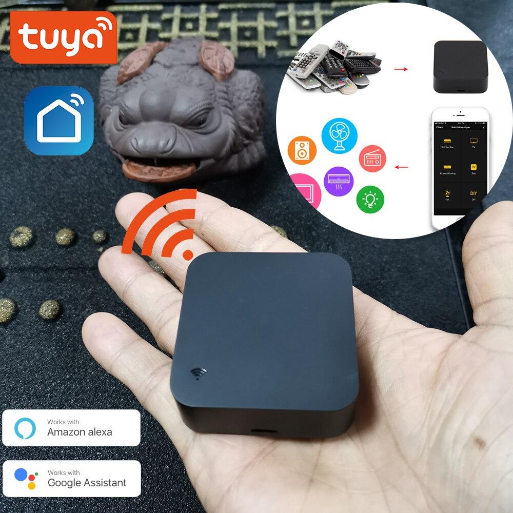 Smallest Min WiFi Smart IR Remote Controller Smart Home Compatible With Alexa, Google Assistant, IFTTT, Smart Life, TuyaSmart
