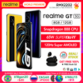 [Глобальная версия мировая премьера] realme GT Snapdragon 888 5G 65 Вт, мгновенная зарядка 120 Гц Super AMOLED [Действительный ассортимент товаров Бесплатная бу...