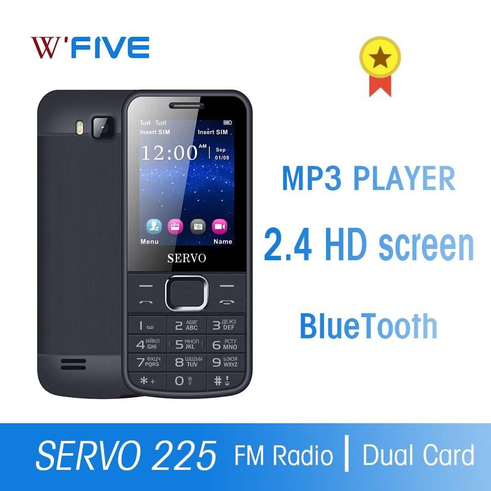 Original Phone Dual SIM Cards 2.4 Inch Screen Cellphones Double Flash Bluetooth Flashlight FM Radio Russian Button Moblie Phones