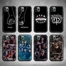 Klaus mikaelson caso de telefone para iphone 12 pro max mini 11 pro xs max 8 7 6s plus x 5S se 2020 xr