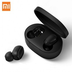 Xiaomi Redmi Airdots Black Bluetooth Earphones Youth Mi True Wireless Bluetooth 5.0 TWS Air Dots Headset