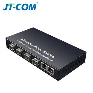 Image 5 - Gigabit SFP Fiber Switch  1000Mbps Optical Media Converter 4 * SFP Fiber Port and 2  RJ45 UTP Port 4/8G2E Fiber Ethernet Switch