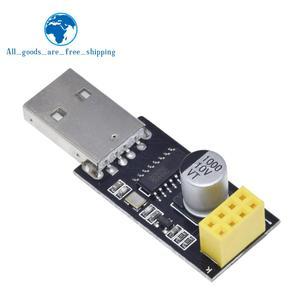ESP01 программатор адаптер UART GPIO0 ESP-01 адаптер ESP8266 CH340G USB к ESP8266 Серийный беспроводной Wi-Fi Developent Board модуль