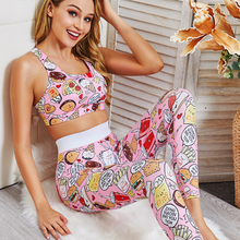 Sports Suits Seamless Yoga Set Women Fitness Clothing Sportswear Woman Gym Leggings Padded Push-up Strappy 2 Pcs Sports Bra gym 3 pcs sports suits yoga set workout women fitness clothing breathable running sportswear woman gym leggings push up athletic bra