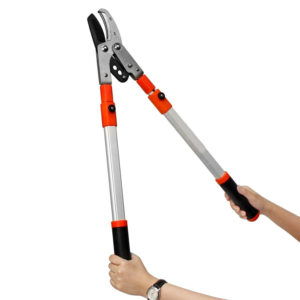 Pruning Tools Telescopic Tree Ratchet Lopper Pruner Extending Garden Cutter Branch Shear Tools Garden Hand Tools