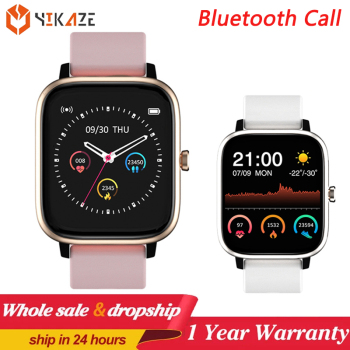 Bluetooth Calls Smart Watch Men Women Waterproof Heart Rate Music Player Pedometer Smartwatch For amazfit Huawei Apple Xiaomi 1