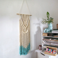 Hand Woven Wall Decoration Crafts Tapestry Boho Chic Wall Hanging Decorations Woven Pendant For Living Room