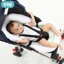 AAG Baby Nest Crib Travel Baby Bed Cot Cradle Newborn Sleeping Support Mattress Mat Infant Stroller Pad Baby Bassinet Bumper цены