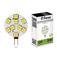 Lamp LED FERON 25093 (3W) 12V G4 4000K, LB 16