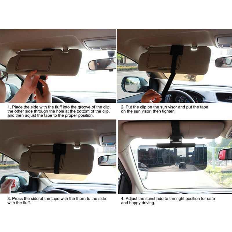 Xe ABS Tấm Che Nắng Phản Quang Chống Nắng Shield Mở Rộng Kéo Dài Lái Xe Cửa Sổ Chống Nắng Gương Cửa Sổ Bao