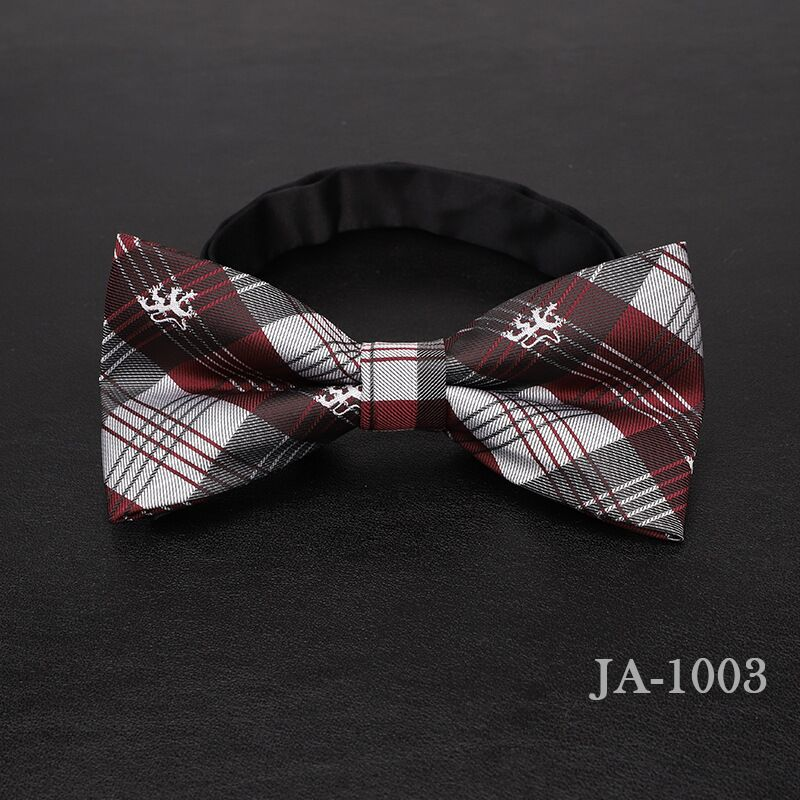 Дизайнерский галстук-бабочка, высокое качество, мода, мужская рубашка, аксессуары, темно-синий, в горошек, галстук-бабочка для свадьбы, для мужчин,, вечерние, деловые, официальные - Цвет: 1003