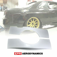 For Nissan R33 Skyline Wider Style FRP Fiber Black or White Unpainted Rear Fender (Fits GTS GTST) +30mm Exterior Accessories Kit