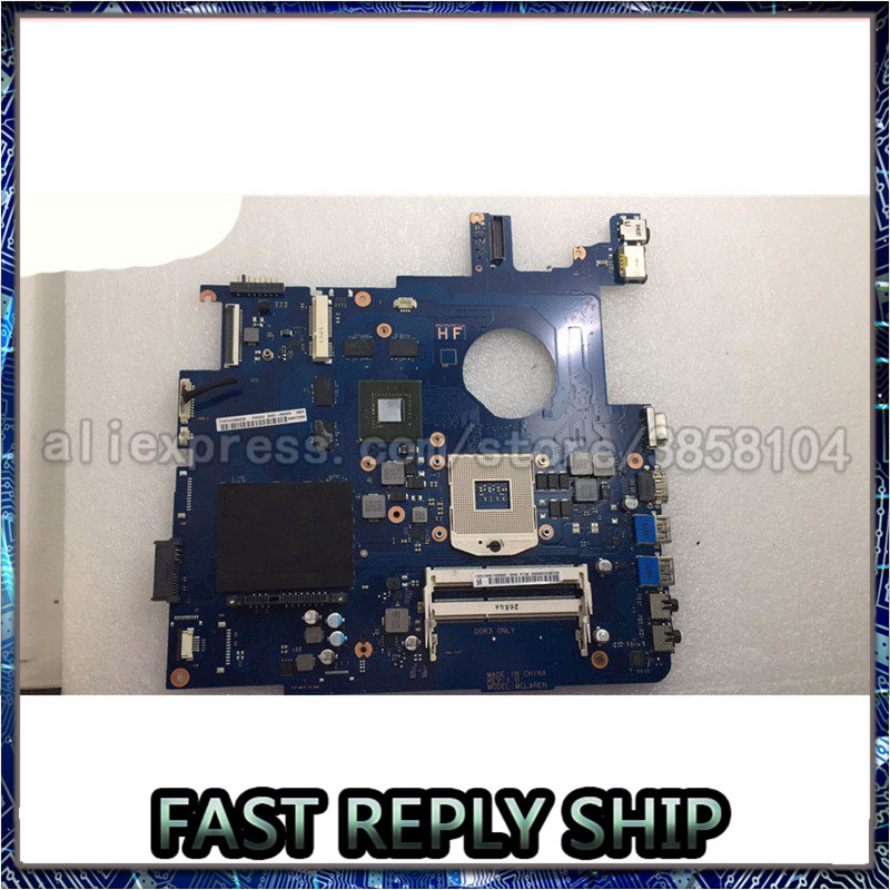 SHELI NP550 NP550P5C Motherbard For Samsung NP550 NP550P5C Laptop Motherboard BA92-10604A BA92-1060AB image