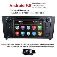1080P 16G 7 inch Android 9.1 for bmw E82,e88,car dvd,gps navigation,wifi,BT,canbus,radio,RDS,quad core,1024x600,support obd2,dvr
