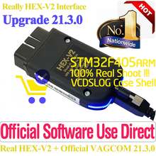 Real Hex V2 Hardware Usb Interface For Vag Com VAGCOM 21.3.0 Professional VAG Diagnostic Coding Function HEX-V2 Update Unlimits