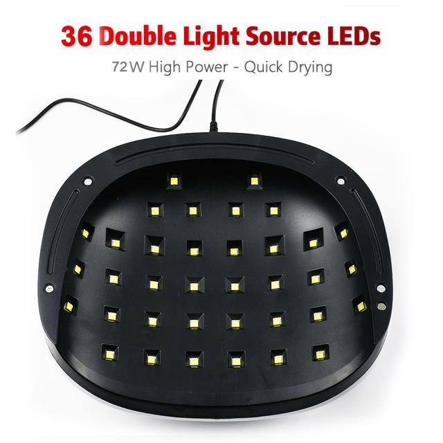 72W Two hand UV Nail Lamp