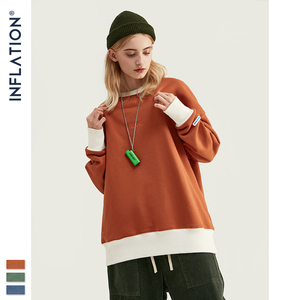 Image 2 - インフレ 2020 デザイン特大男性のプルオーバー綿 100% メンズシャツ刺繍ロゴ男性トレーナー 9604