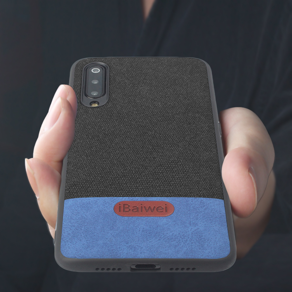 For <font><b>Xiaomi</b></font> <font><b>Mi</b></font> 9 Phone Case Fabric Luxury Silicone Edge Coque Protective <font><b>Xiaomi</b></font> <font><b>Mi</b></font> 9 SE Back <font><b>Cover</b></font> Drop-Resistant Anti Skid image