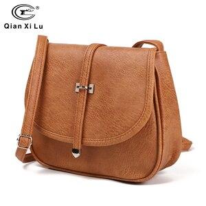 Image 1 - Yeni tasarımcı kadın çantası pu deri omuz çantası bayanlar Crossbody çanta kadın kesesi postacı çantası ucuz toptan bolso mujer