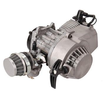 Ridgeyard 49CC 2-stroke Mini Motor Engine Dirt Bike Air Filter  Gear Carburetor Cross ATV Motor