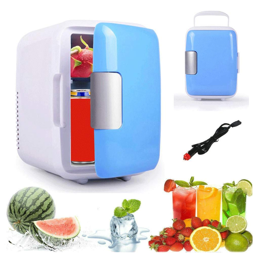 Portable Refrigerator For Car 4L Eletric Car Home Refrigerator Fridge Mini Dual-use Cool Warmer Electric Car Cooler And Warmer