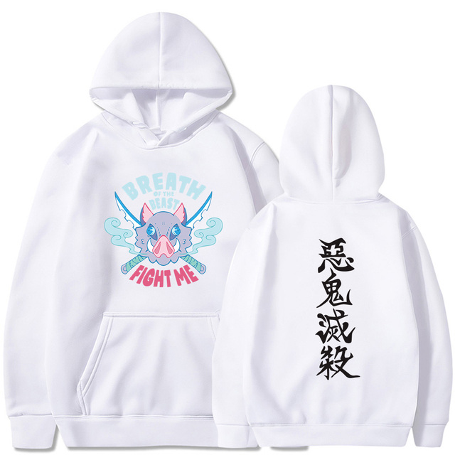 DEMON SLAYER INOSUKE BREATH OF THE BEAST HOODIE (6 VARIAN)