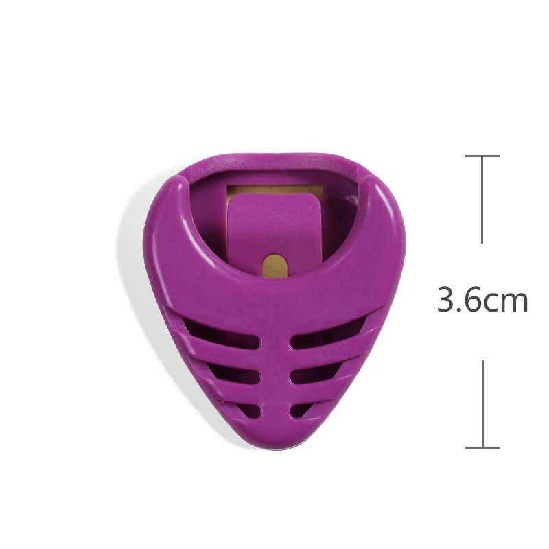 الغيتار اختيار صندوق 3.6 سنتيمتر المواد البلاستيكية الغيتار الاكسسوارات الغيتار يختار صندوق دائم اختيار حامل الصندوق الغيتار الصوتية الكهربائية جزء