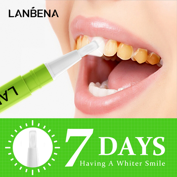 LANBENA Teeth Whitening Pen Lime Hygiene Gel Cleaning Serum Remove Plaque Stains Bleaching Whitener Dental Tools Oral