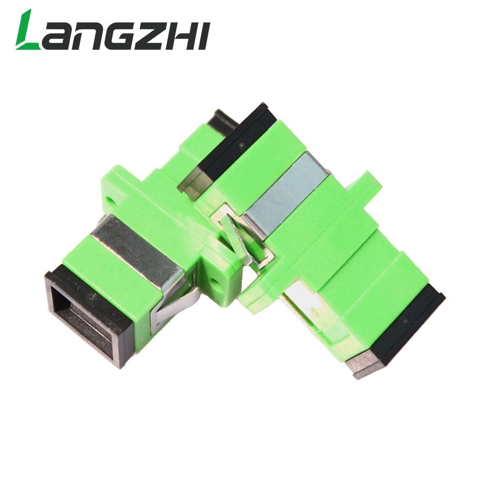 10pcs sc apc simplex mode fiber optic adapter sc apc optical fiber coupler