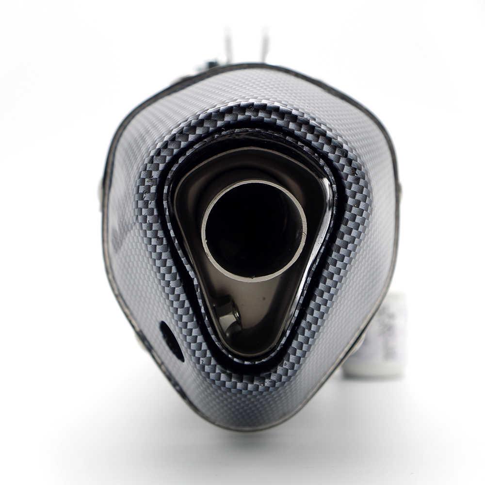 # Y86 Akrapovic uitlaatpijp met DB killer VOOR BMW k100 KTM 1290 Kawasaki zx6r honda cbf 1000 yamaha r6 2005 moto accessoires