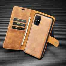 2 in 1 Case For Samsung Galaxy M51 Case S21 Plus Ultra Cover Flip Leather Coque For Samaung M31 M31S Cases Fundas Wallet Pocket