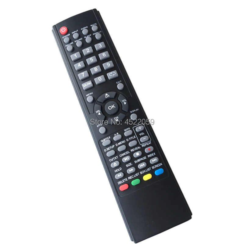 LCDV3256HDR. LCDV3956FHD. LCDV4288FHDR. LE19A84HD. LE23A84HD. LE23A85FHD. LE23A86FHD. LE32G6FHD. LE40UBFHD Remote Control untuk Teac TV