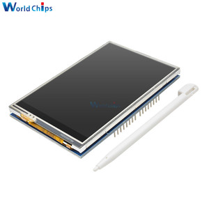 """Image 4 - 3.5 """"3.5 pouces 480x320 TFT LCD écran tactile Module ILI9486 écran LCD pour Arduino UNO MEGA2560 carte avec/sans écran tactile"""