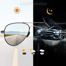 2020 New Oversize Pilot Photochromic Polarized Sunglasses Men Women Brand Design Anti glare Driving Aviation Sun Glasses oculos