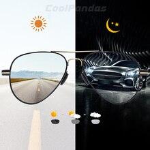 2020 nova oversize piloto photochromic polarizado óculos de sol das mulheres dos homens design da marca anti reflexo condução aviação óculos de sol oculos