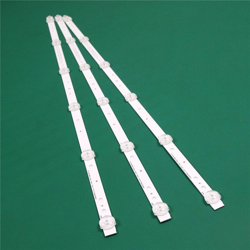 LED TV Illumination For BBK 32LEM-3081/T2C LED Bar Backlight Strip Line Rulers SVJ320AG2-Rev2-6LED-130307 LB-C320X14-E11-H-G1-SE
