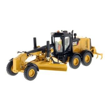 Diecast masters #85520 1/87 (ho) escala caterpillar 12m3 motor grader veículo gato engenharia caminhão modelo carros presente brinquedos