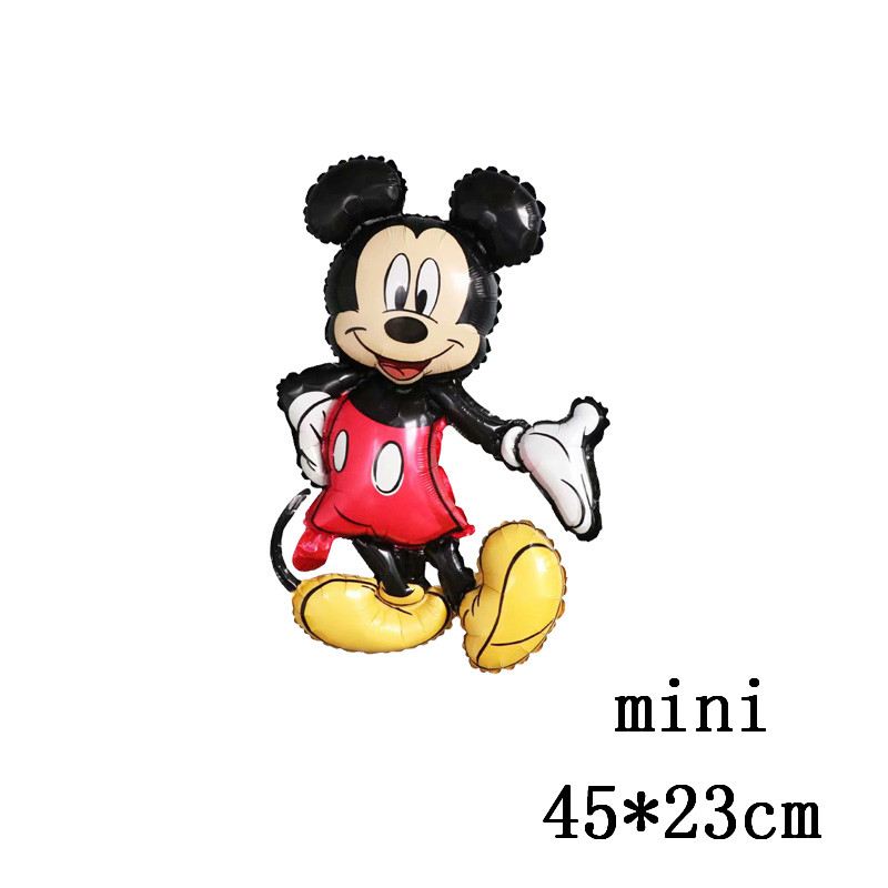 Giant Mickey Minnie Mouse Balloons Disney Cartoon Foil Balloon Baby Shower Birthday Party Decorations Kids Classic Toys Gifts Big Discount Eba06 Anlaggningspartner