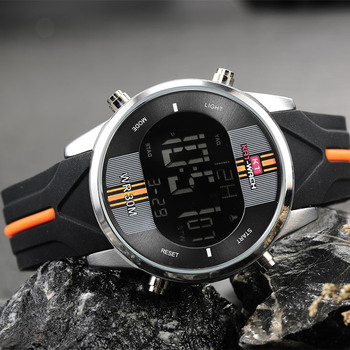 Fashion Brand Men Watch Waterproof Sport Watch Outdoor Silicone Strap Led Digital Watch Men Clock Erkek Kol Saati Hodinky 3