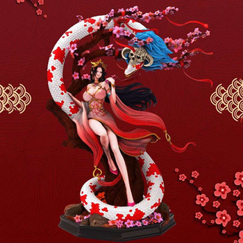 30cm Anime One Piece Aurora National Wind Boa Hancock GK Statue PVC Action Figure Big Size Collection Model Toy Doll Gift model fans one piece 28cm mr 1 daz bones gk resin figure toy for collection handicrafts
