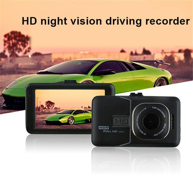 Car DVR Driving Recorder Full HD 1080P 3 Inch Vehicle Camera DVR EDR Dashcam Motion Detection Night Vision G Sensor USB AV-Out 2