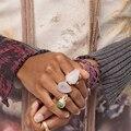 Модное кольцо Dvacaman 2020 в стиле ретро с кварцевым камнем ZA, Женское кольцо с зеленым и розовым камнем, Женское кольцо, ювелирные изделия для ве...