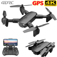 Drone 4DRC F6 GPS con videocamera 5G RC Quadcopter Drones HD 4K WIFI FPV pieghevole Off-Point foto volanti Video Dron elicottero giocattolo