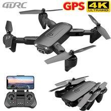 4drc f6 gps zangão com câmera 5g rc quadcopter drones hd 4k wifi fpv dobrável fora do ponto de vôo fotos vídeo dron helicóptero brinquedo