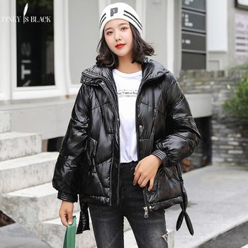 PinkyIsBlack Womens Winter Jacket Down Cotton Parkas Clothing Female 2019 New Korean Version For Outwear Thick Winter Coat Women клава 2019 11 30t19 00