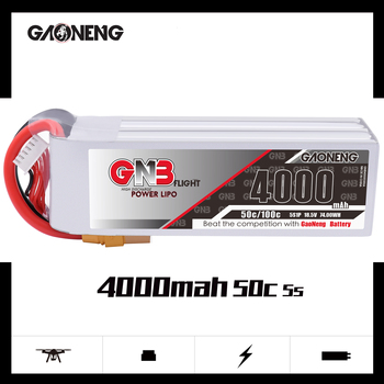 Gaoneng GNB 4000mAh 5S 50C/100C 18.5V Lipo Battery XT60 XT90 T  Plug For RC Quadcopter Airplane Helicopter Car