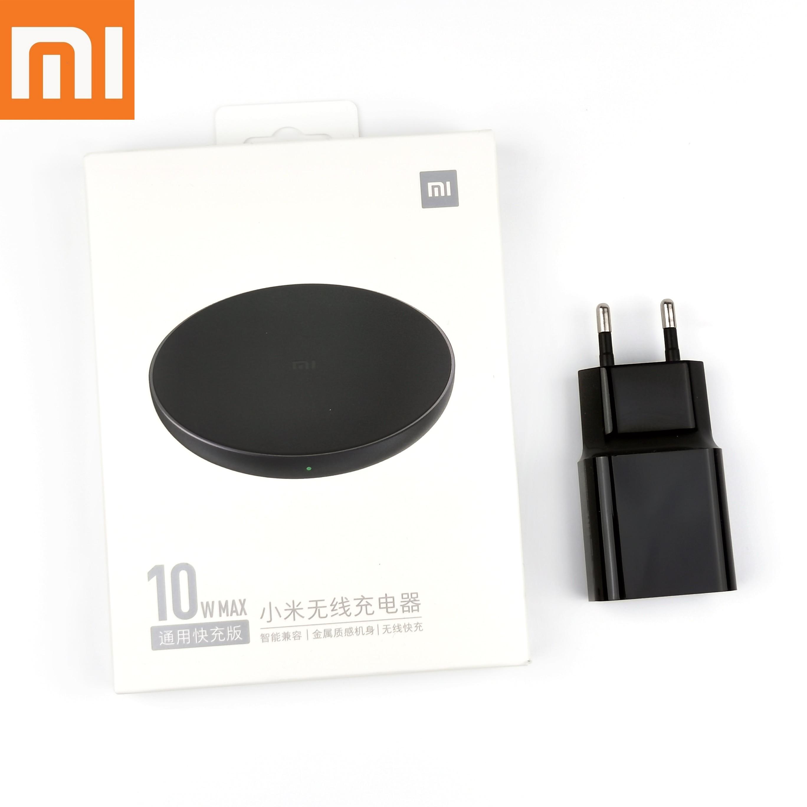 Original XiaoMi Mi9 Pro Wireless Charge Pad Fast 10W Max Fast Wireless Charger For Iphone Xs Xr X 8 Mi 9T mix 3 2s Mate30 pro