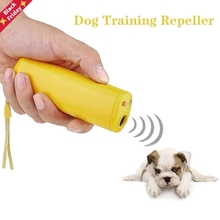 Anti-Barking-Control-Devices Stop Deterrents-Trainer Dog-Repeller Training 3-In-1