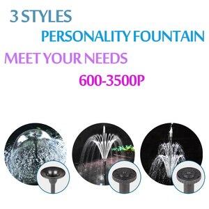 Image 4 - 3500L/H haute puissance fontaine pompe à eau fontaine fabricant étang piscine jardin Aquarium Aquarium Aquarium eau circuler et Air oxygène augmenter